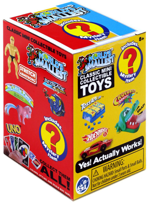 World's Smallest Classic Mini Toys Series 3 Mystery Pack