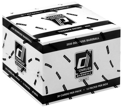 MLB Panini 2020 Donruss Baseball Trading Card VALUE Box [12 Packs]