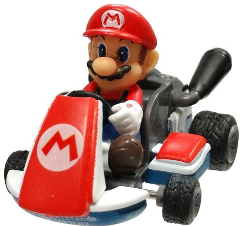 Mario Kart Mario 2-Inch Pullback Racer [Loose]