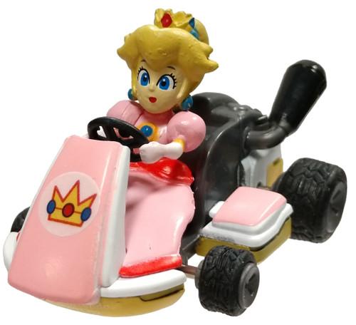 Mario Kart Peach 2-Inch Pullback Racer [Loose]