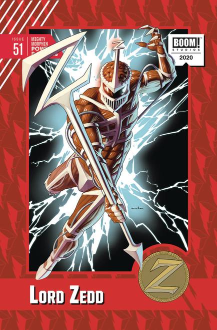 Boom Studios Mighty Morphin Power Rangers #51 Comic Book [Kris Anka Incentive Variant]