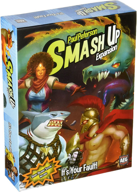 Smash Up It's Your Fault Board Game Expansion