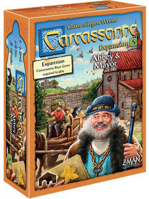 Carcassonne Abbey & Mayor Board Game Expansion