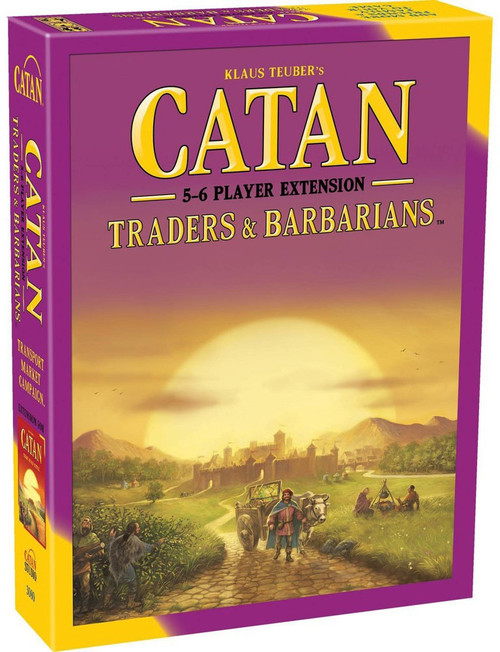 Catan Traders & Barbarians Board Game Expansion [5-6 Player Extension]