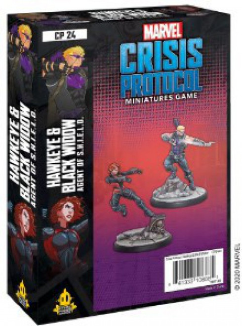 Marvel Crisis Protocol Hawkeye & Black Widow Character Pack