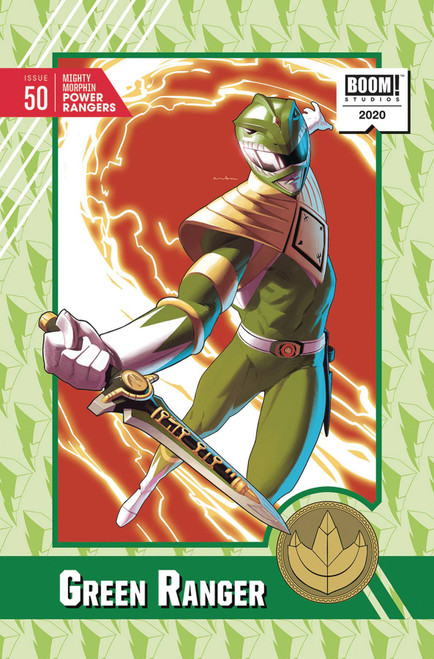 Boom Studios Mighty Morphin Power Rangers #50 Necessary Evil Comic Book [Anka Incentive Variant]