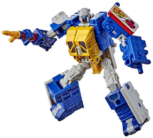 Transformers Generations Selects War For Cybertron Greasepit Deluxe Action Figure WFC-GS12