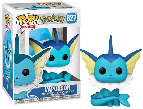 Funko Pokemon POP! Games Vaporeon Vinyl Figure #627