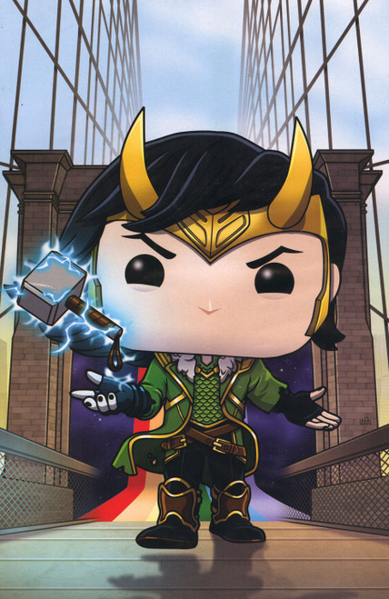 Funko Marvel Comics Thor #1 Exclusive Comic Book [Virgin Variant]