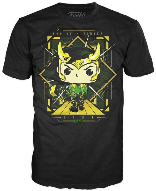 Funko Marvel Loki Lord of Mischief Exclusive T-Shirt [X-Large]