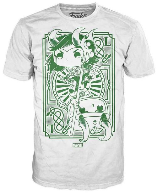 Funko Marvel Loki Exclusive T-Shirt [Fight, Large]