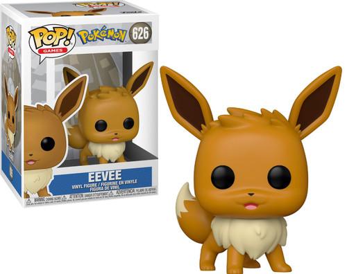 Funko Pokemon POP! Games Eevee Vinyl Figure #626 [Standing]