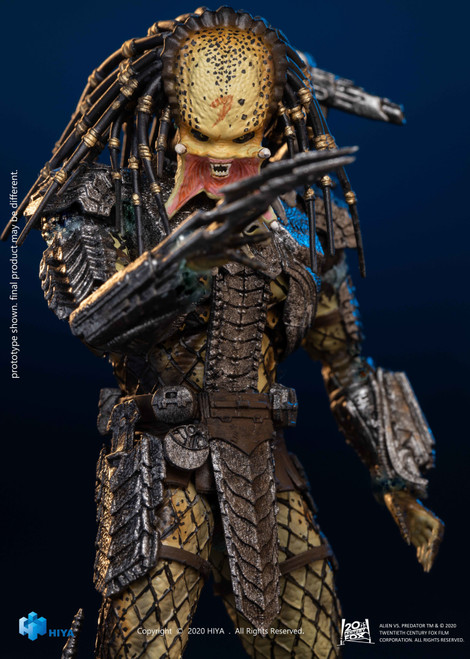 Alien vs. Predator Scar Predator Action Figure [Unmasked] (Pre-Order ships May)