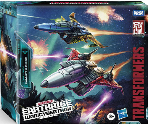 Transformers Generations Earthrise: War for Cybertron Trilogy Ramjet & Dirge Voyager Action Figure 2-Pack WFC-E27 [Seeker Elite]