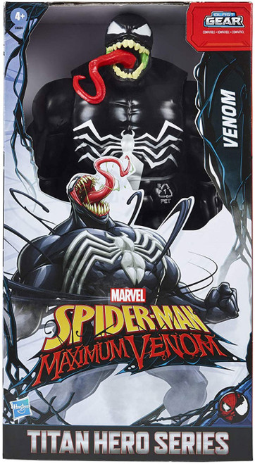 Marvel Spider-Man Maximum Venom Titan Hero Series Blast Gear Venom Action Figure