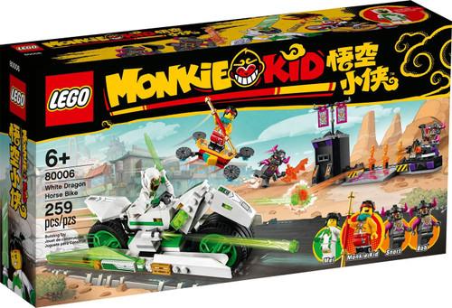 LEGO Monkie Kid White Dragon Horse Bike Set #80006