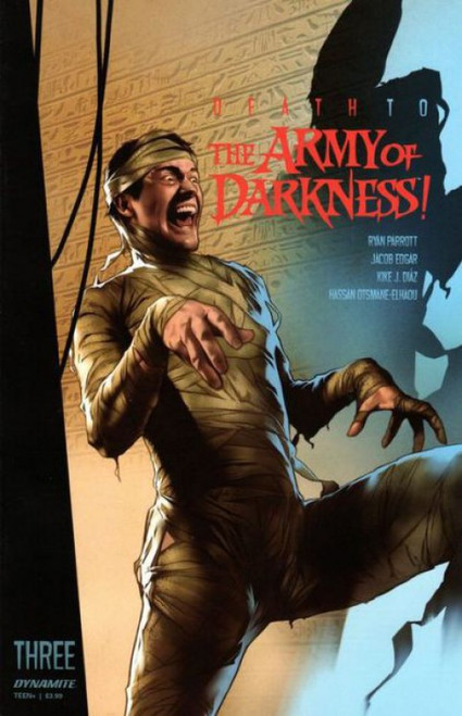 Dynamite Entertainment Death to the Army of Darkness #3A Comic Book