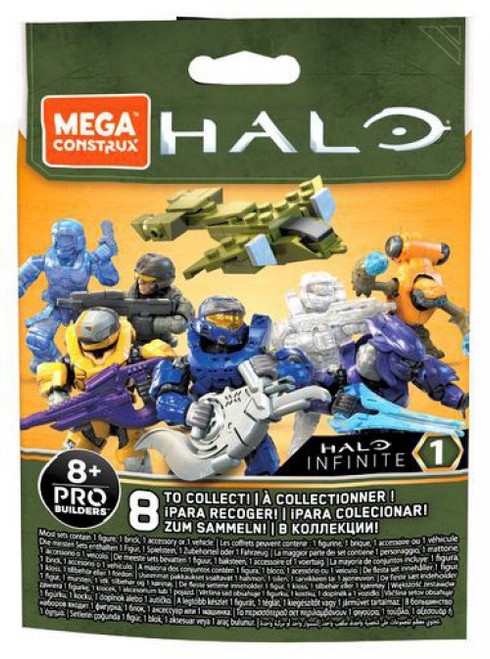 Halo Infinite Series 1 Minifigure Mystery Pack [1 RANDOM Figure!]