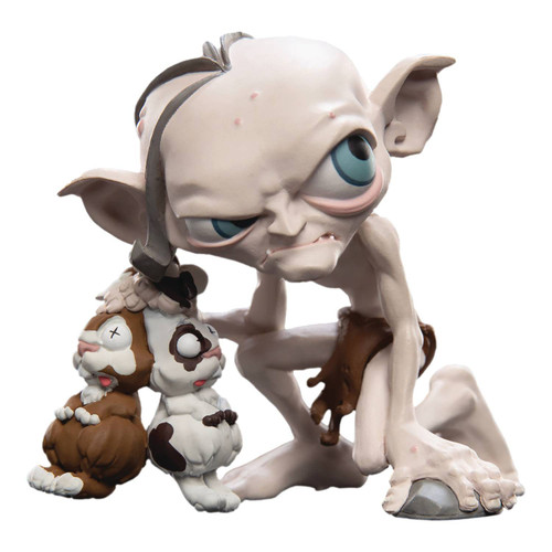 Mini Epics: Lord of the Rings Gollum Exclusive 3.75-Inch Vinyl Statue [with Rabbits]