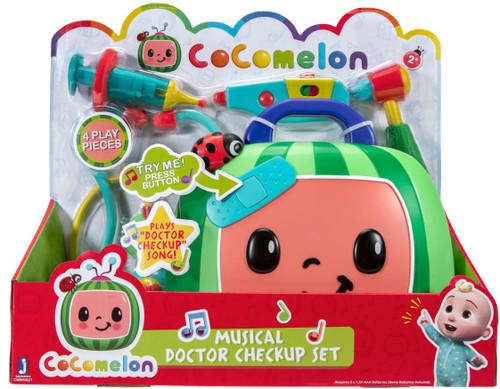 Cocomelon Musical Doctor Checkup Set Playset