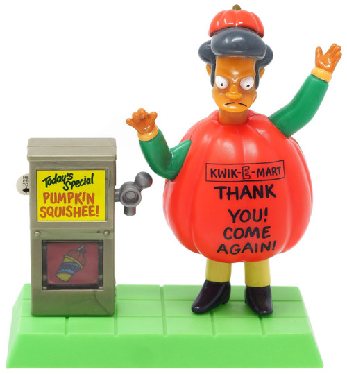 The Simpsons Treehouse of Horror Apu Happy Meal Toy