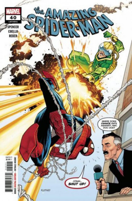 Marvel The Amazing Spider-Man, Vol. 5 #40A Comic Book