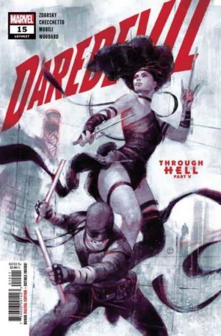 Marvel Daredevil, Vol. 6 #15A Comic Book