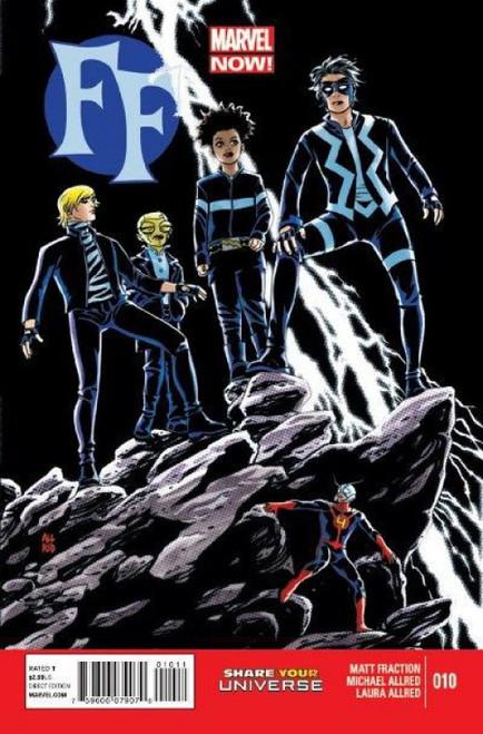 Marvel FF, Vol. 2 #10 Comic Book
