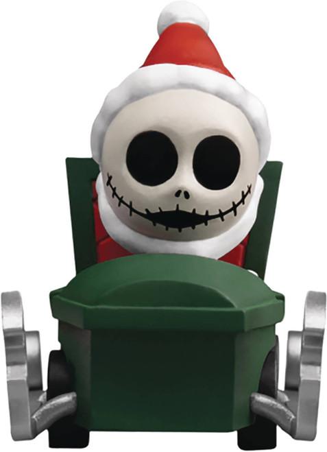 Disney Nightmare Before Christmas Santa Jack Skellington Pull Back Car