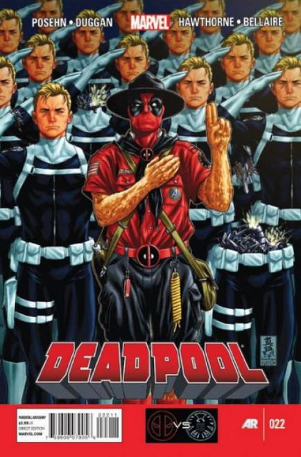 Marvel Deadpool, Vol. 4 #22 Comic Book