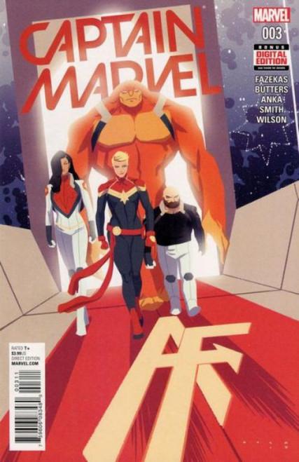 Captain Marvel, Vol. 10 #3A Comic Book