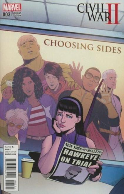 Marvel Civil War II: Choosing Sides #3B Comic Book