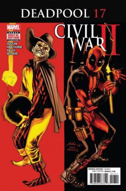 Marvel Deadpool, Vol. 5 #17A Comic Book
