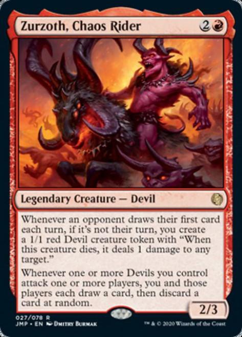 MtG Jumpstart Rare Zurzoth, Chaos Rider #27