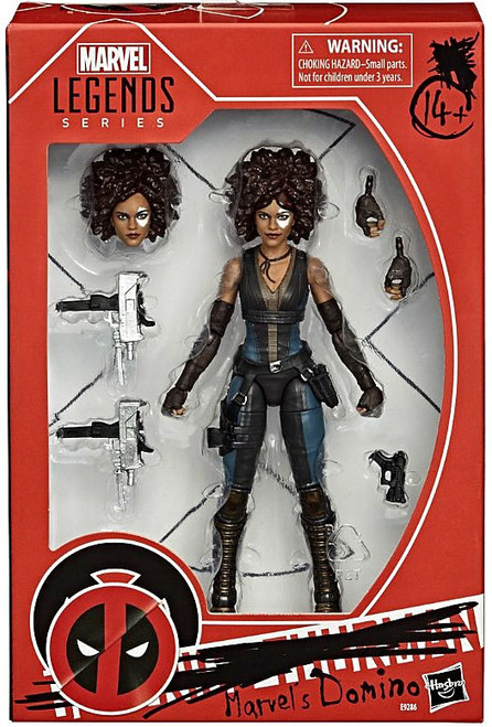 Marvel X-Men Legends Domino Action Figure