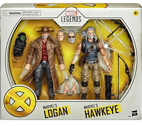 Marvel X-Men Legends 20th Anniversary Old Man Logan & Hawkeye Action Figure 2-Pack (Pre-Order ships May)