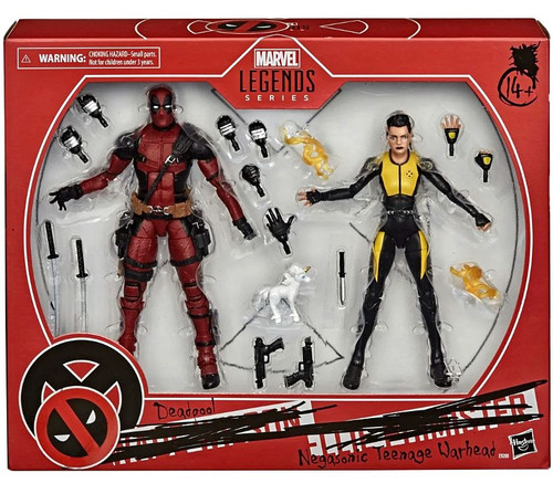 Marvel X-Men Legends 20th Anniversary Deadpool & Negasonic Teenage Warhead Action Figure 2-Pack (Pre-Order ships January)