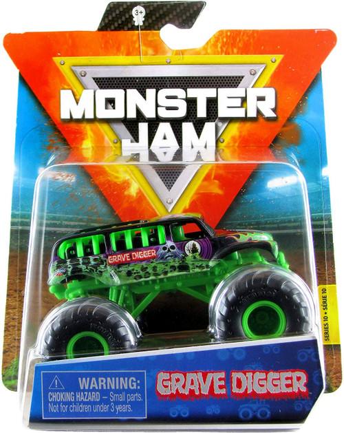 Monster Jam Series 10 Grave Digger Diecast Car [Green Frame]