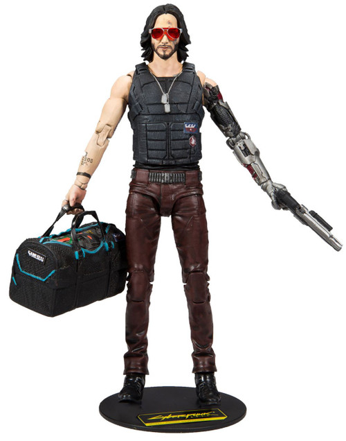 McFarlane Toys Cyberpunk 2077 Johnny Silverhand Action Figure [Variant]