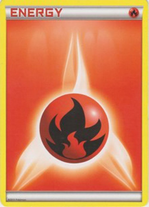 Pokemon X & Y Promo Holo Rare Fire Energy