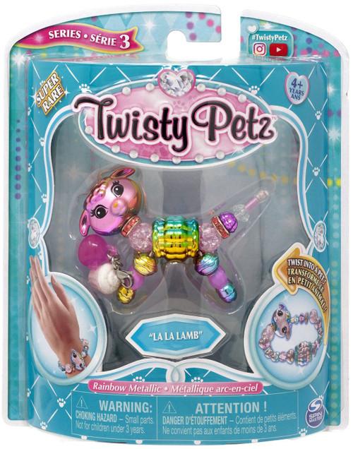 Twisty Petz Series 3 La La Lamb Super Rare Bracelet
