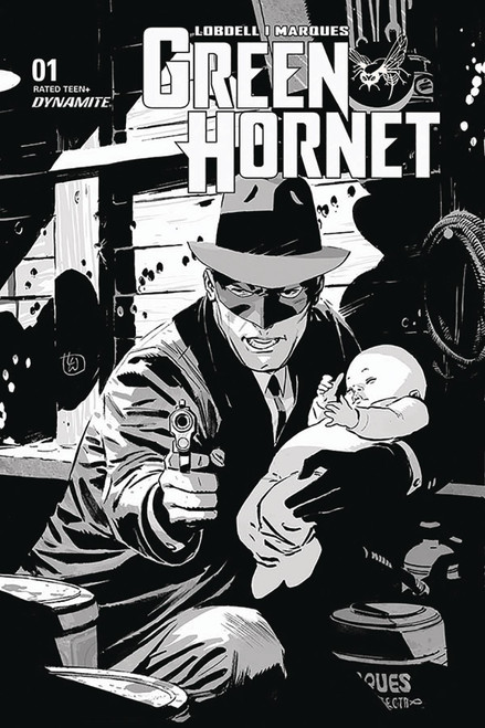Dynamite Entertainment Green Hornet #1 Comic Book [Weeks Black & White Incentive Variant]