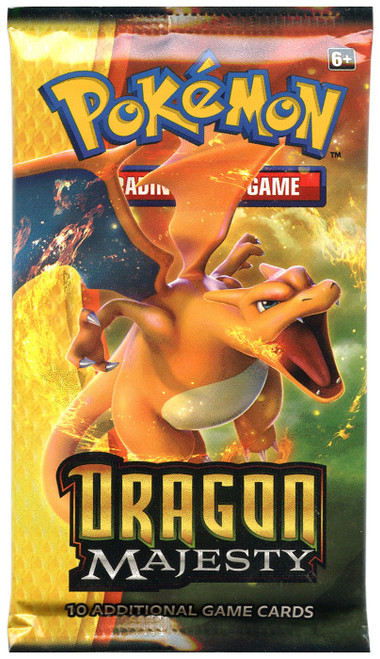 Pokemon Trading Card Game Dragon Majesty Booster Pack [10 Cards]