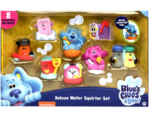 Blue's Clues & You! Water Squirters Deluxe 8-Piece Set