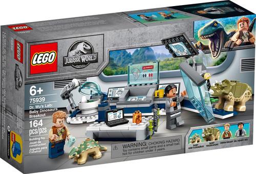 LEGO Jurassic World Dr. Wu's Lab: Baby Dinosaurs Breakout Set #75939