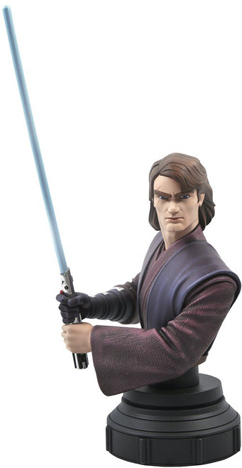 Star Wars The Clone Wars Anakin Skywalker Bust