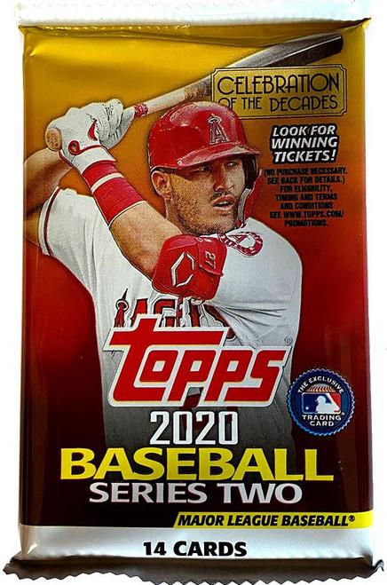 MLB Topps 2020 Series 2 Baseball Trading Card RETAIL Pack [14 Cards!]