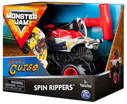 Monster Jam Spin Rippers Pirate's Curse Vehicle