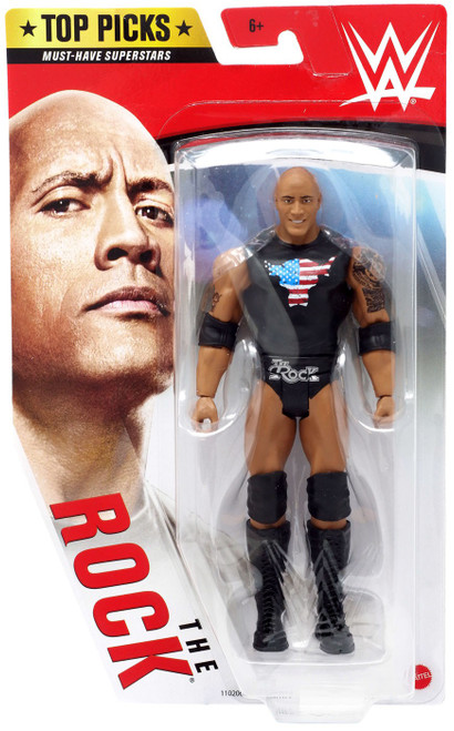 WWE Wrestling Top Picks 2020 The Rock Action Figure [Damaged Package]