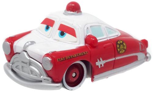 Disney / Pixar Cars The World of Cars Mini Adventures Doc Hudson Plastic Car [Radiator Spring Fire Dept. Loose]